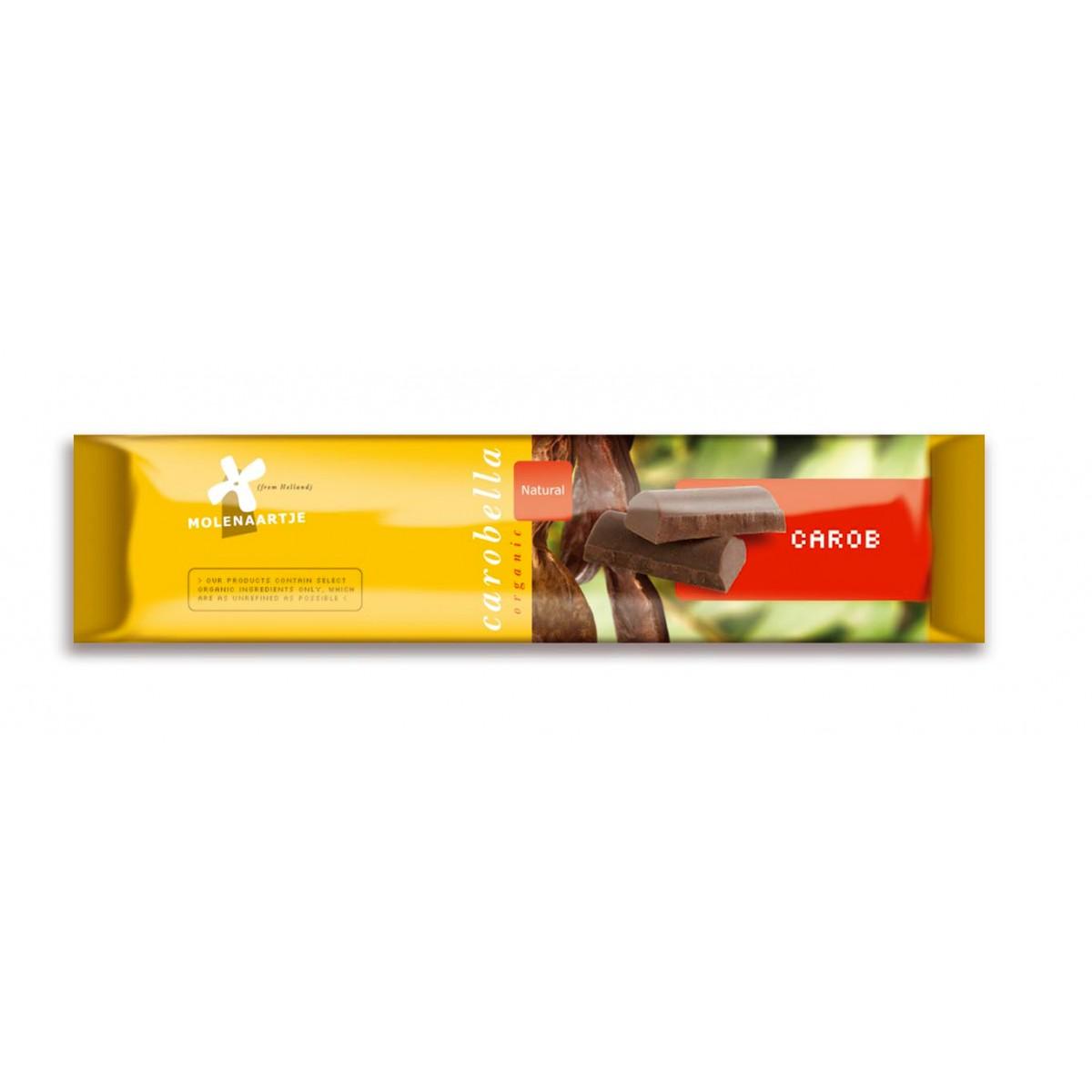 Carobe Tablet Naturel 45 gram