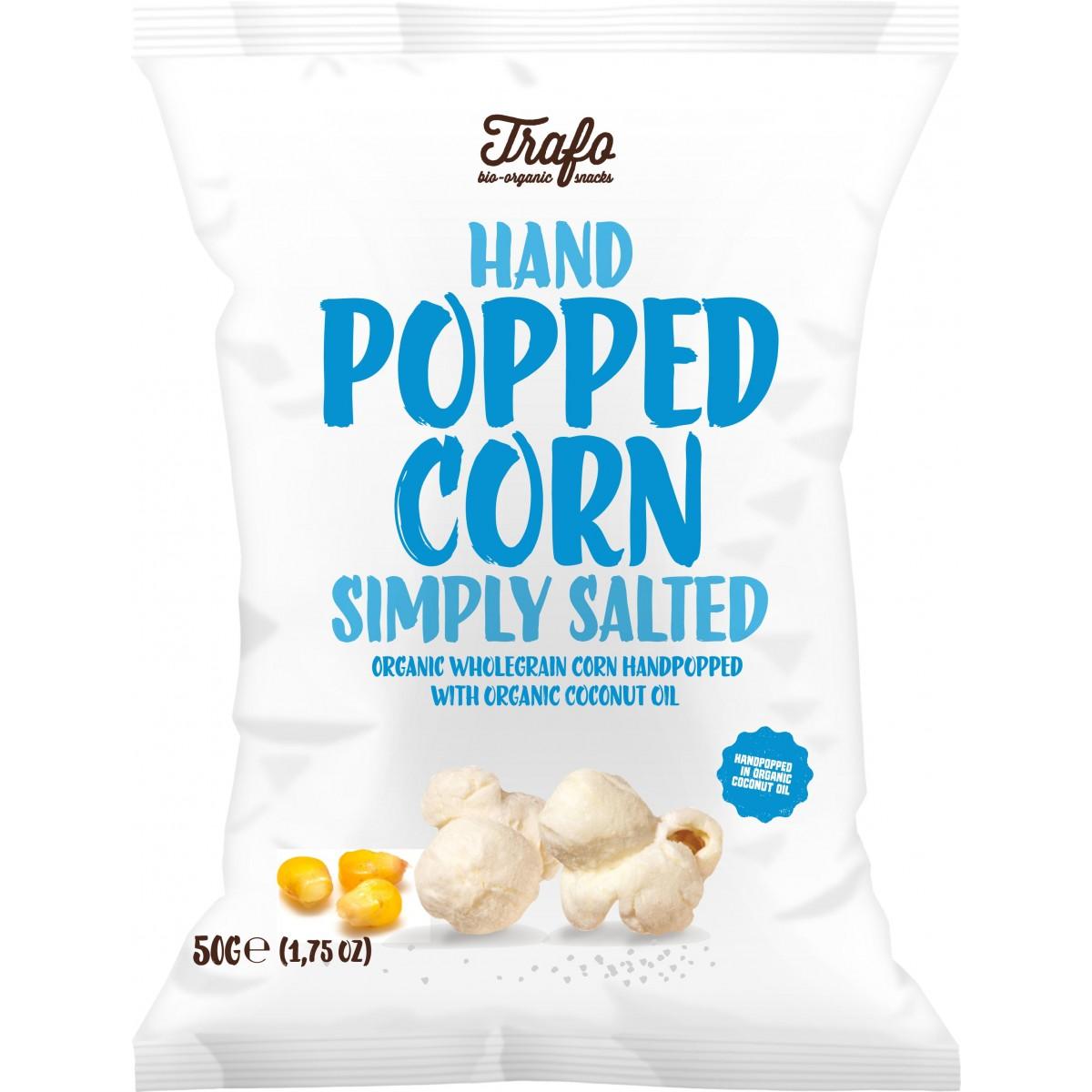 Popcorn Gezouten
