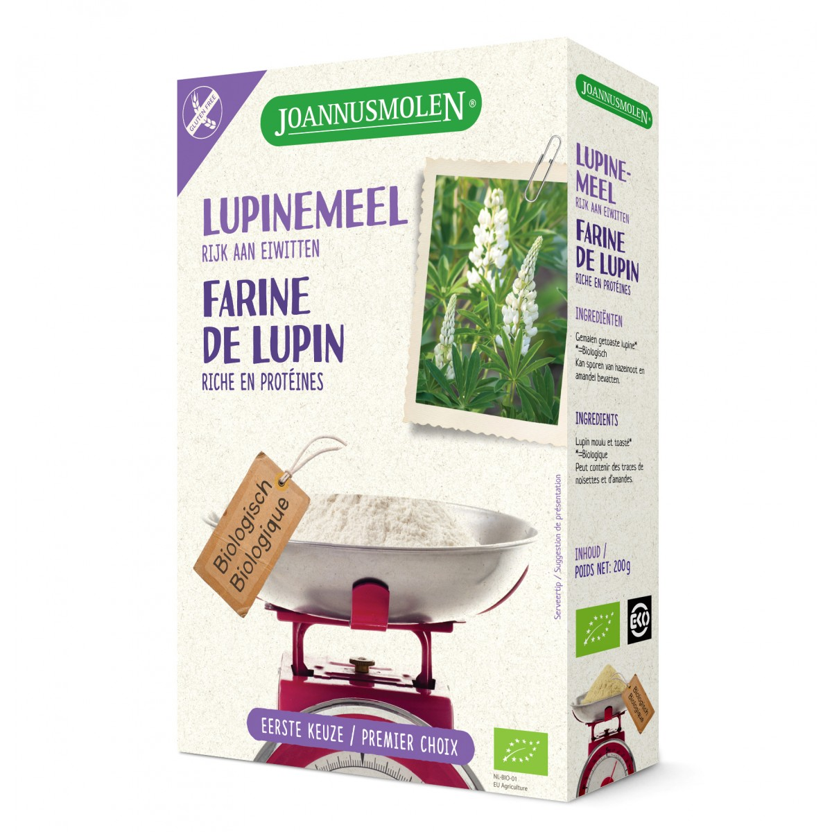 Lupinemeel