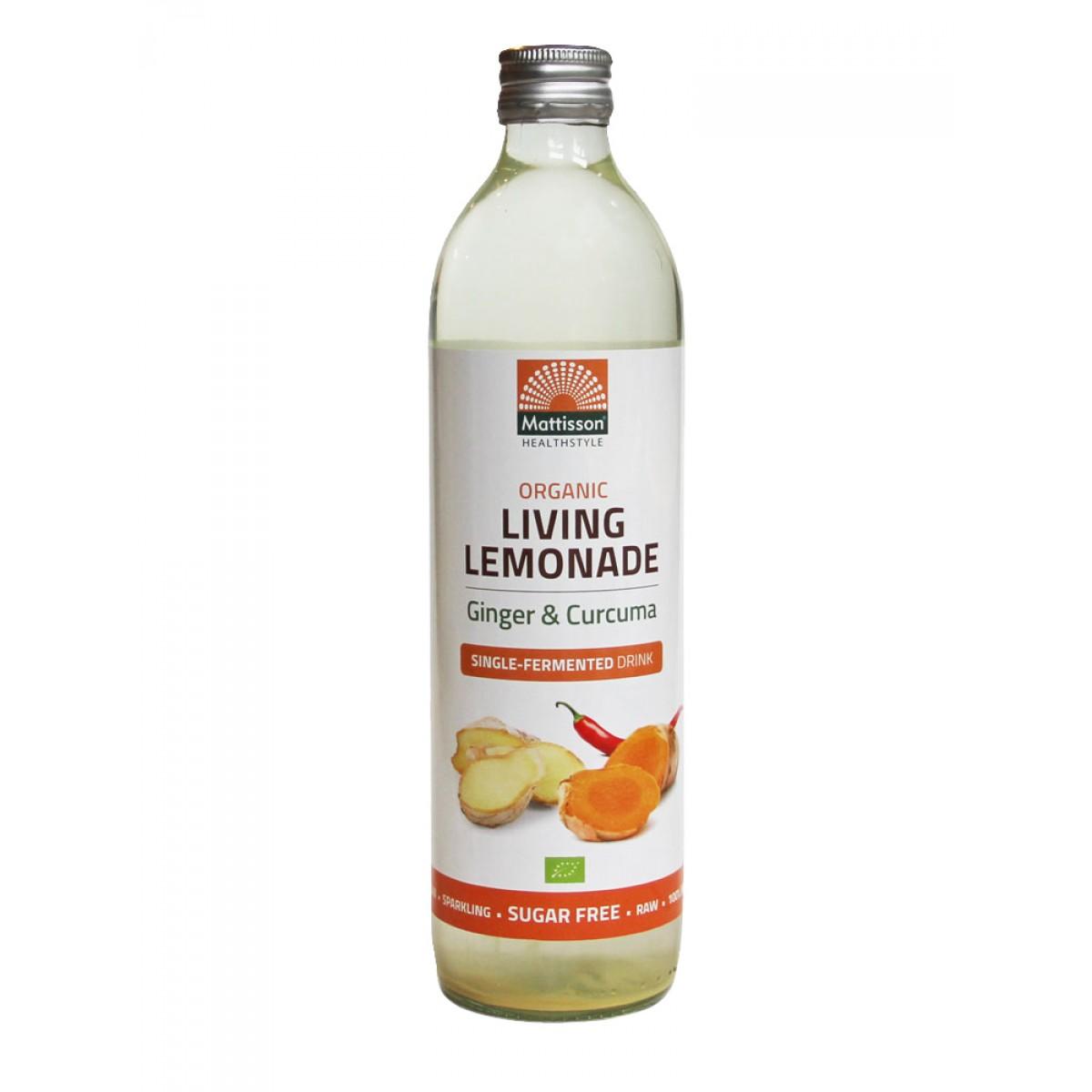 Living Lemonade Gember & Curcuma