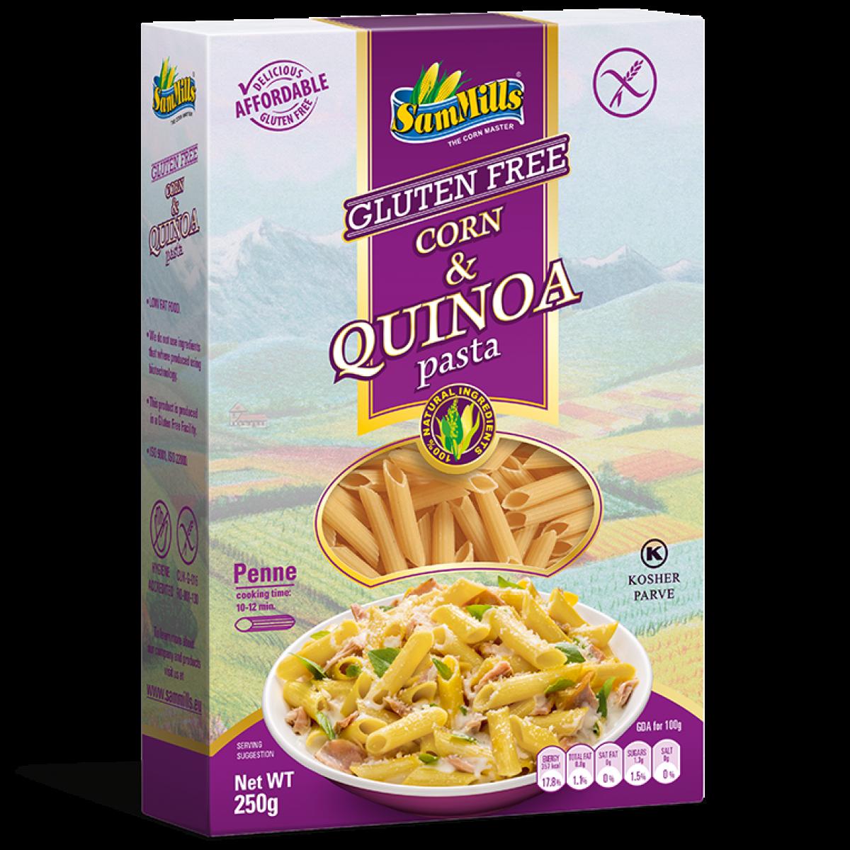 Mais & Quinoa Penne