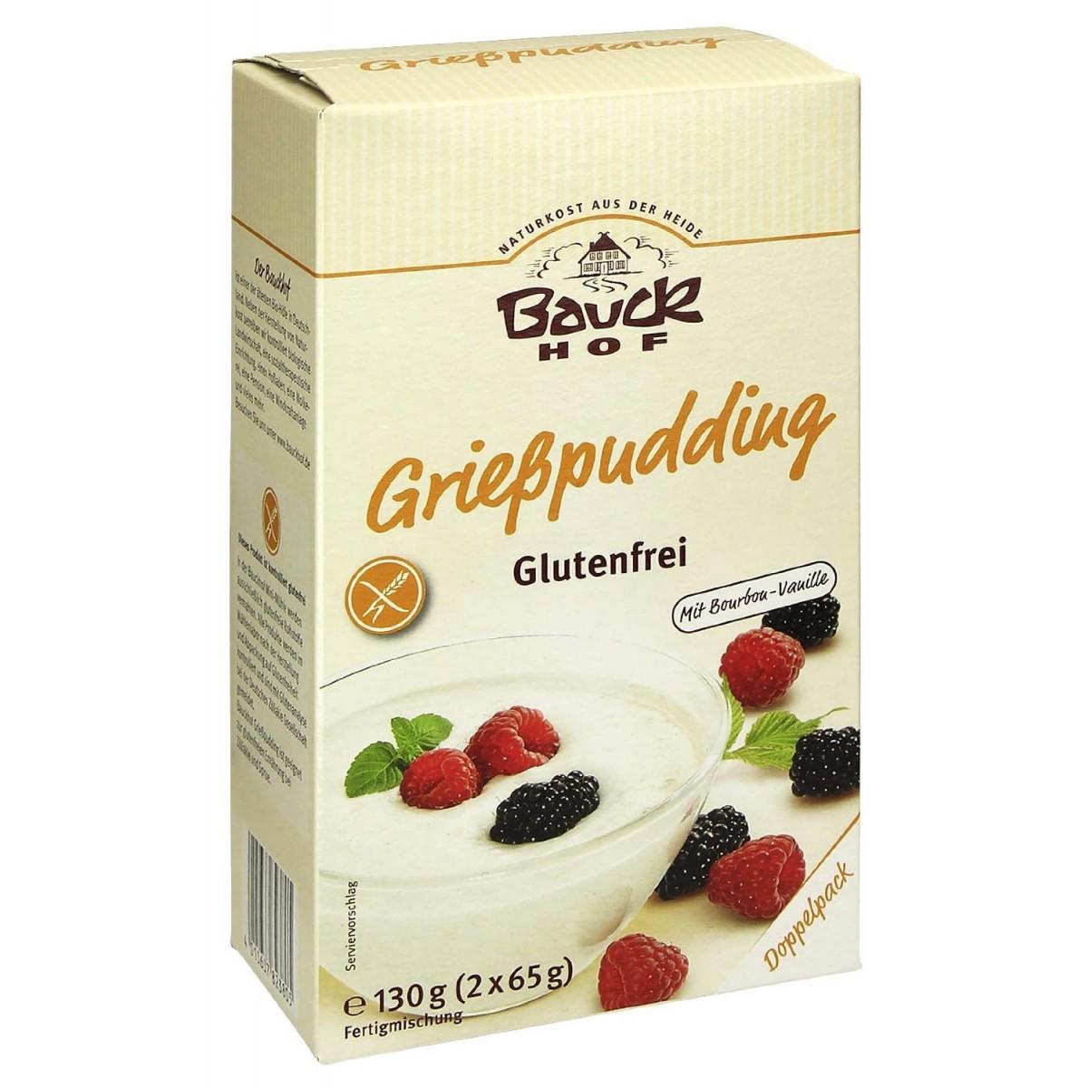 Griesmeelpudding
