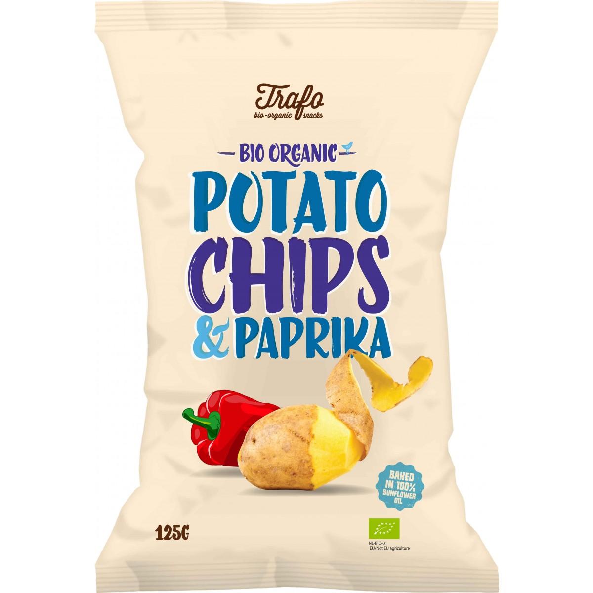 Aardappelchips Paprika