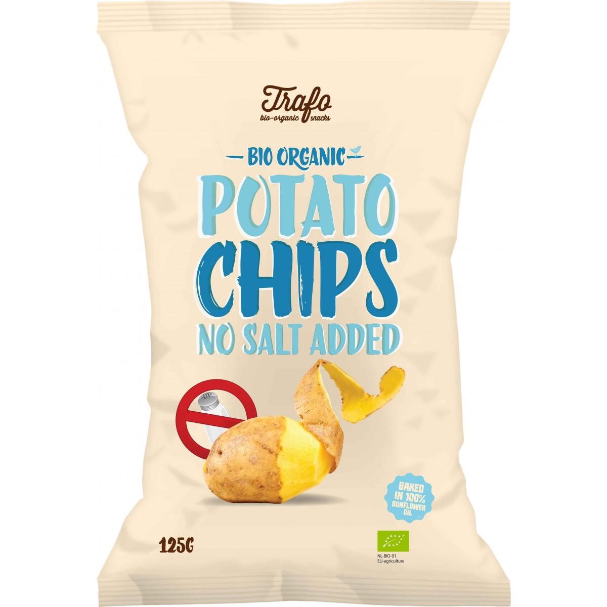 Aardappelchips Zonder Zout