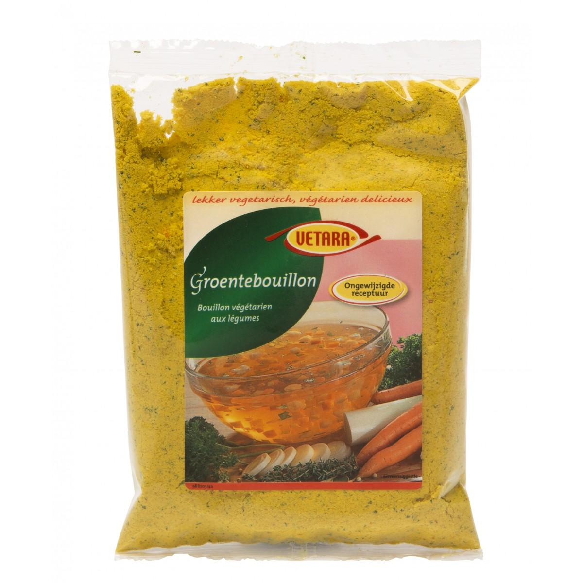 Groentebouillon (navulzak)