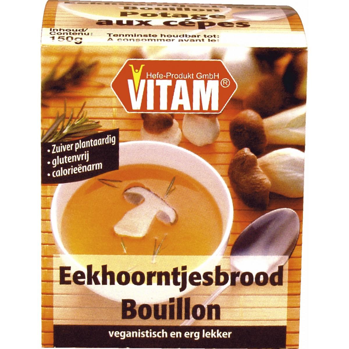 Eekhoorntjesbrood Bouillon