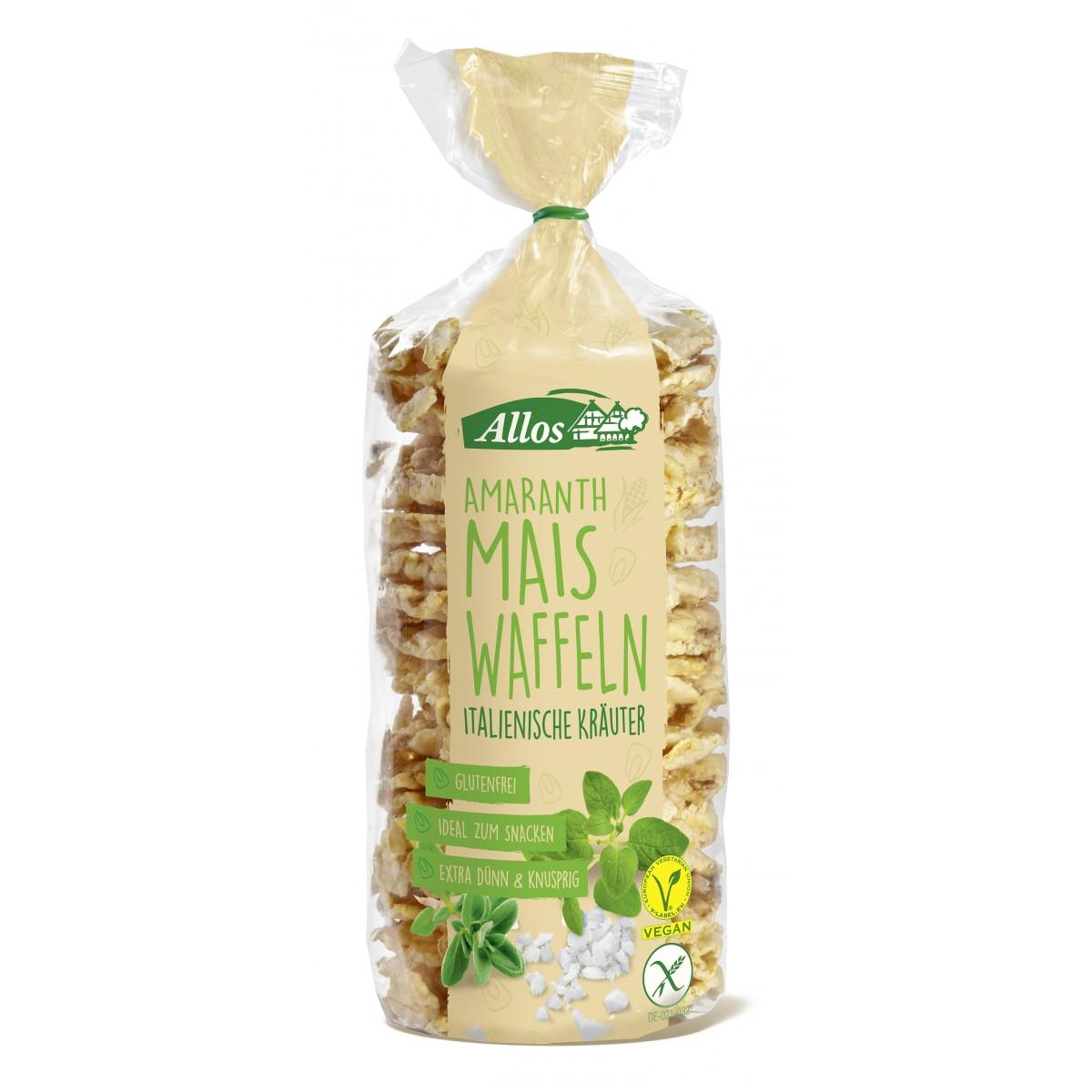 Amarant Mais Wafels Italiaanse Kruiden