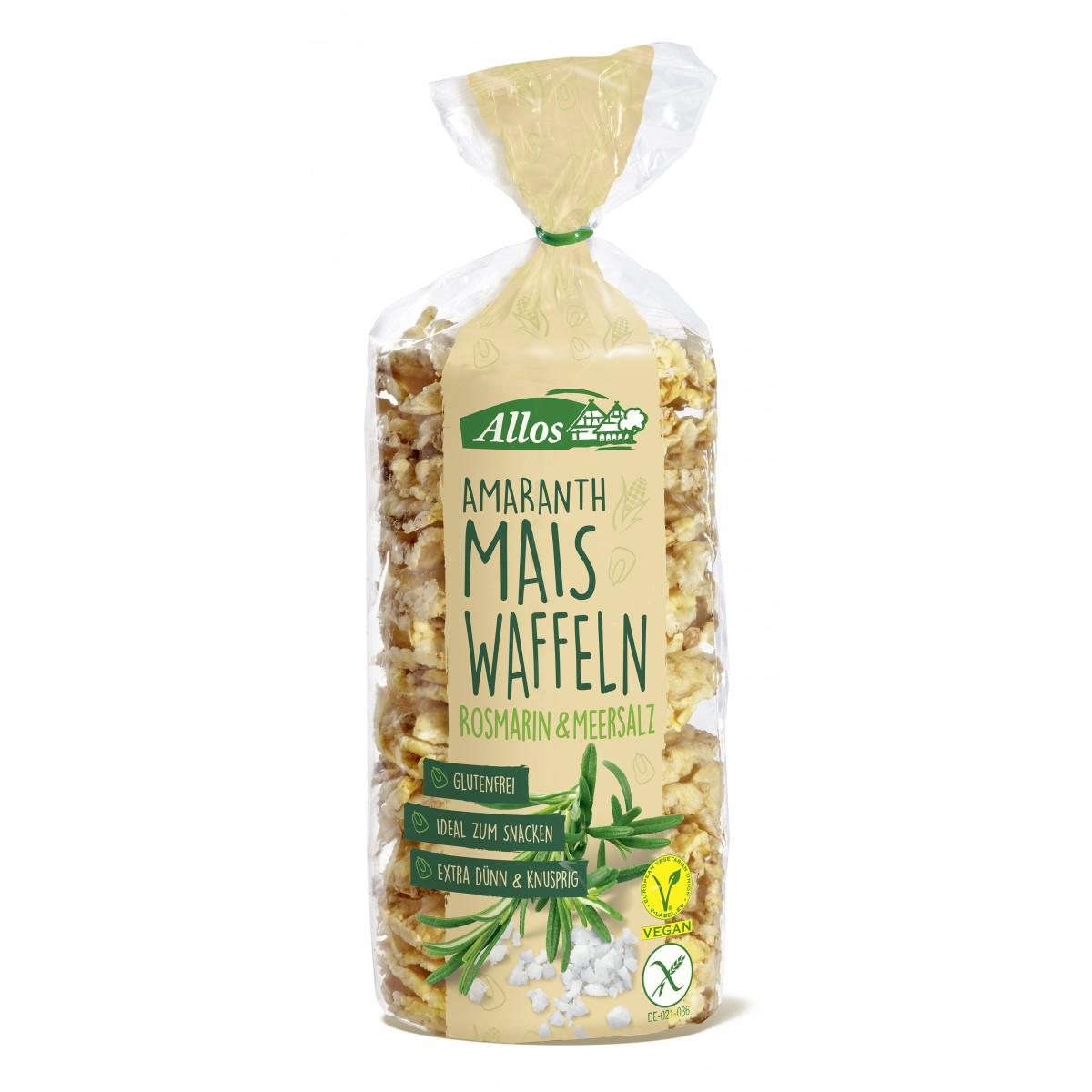 Amarant Mais Wafels Rozemarijn & Zeezout