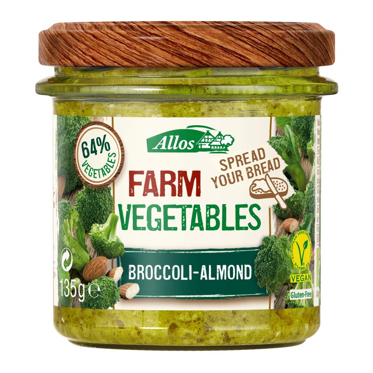 Groentespread Broccoli Amandel