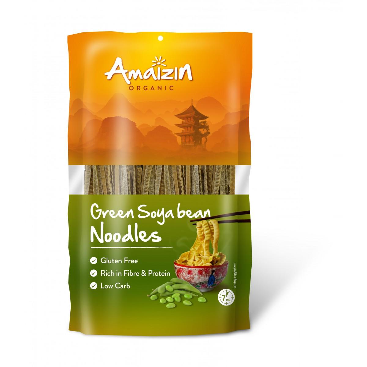Groene Sojabonen Noodles