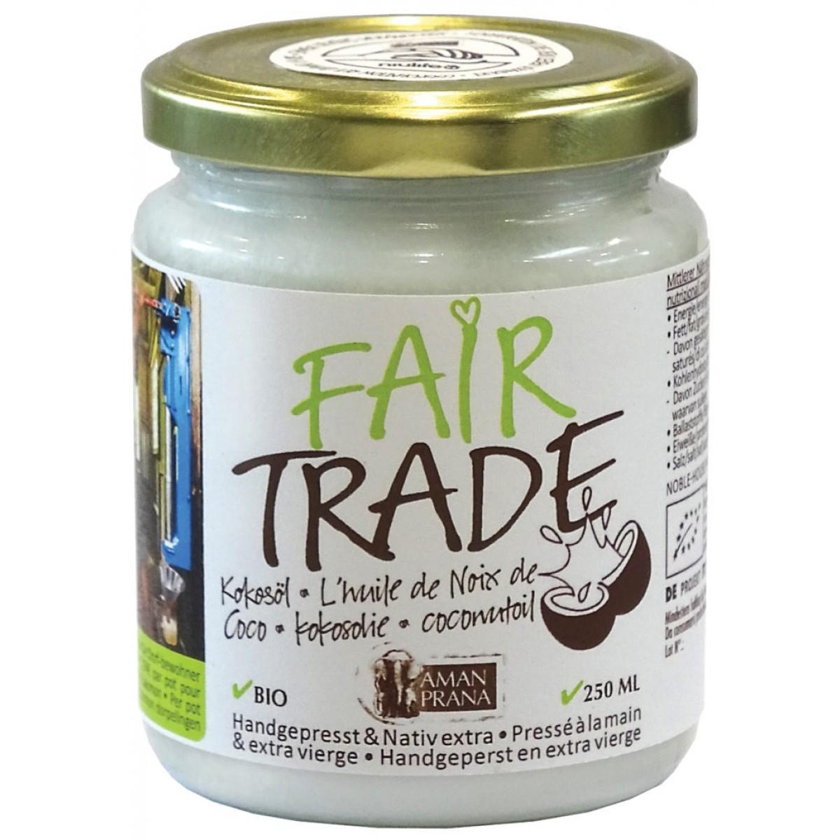 Kokosolie Fair Trade 250 ml