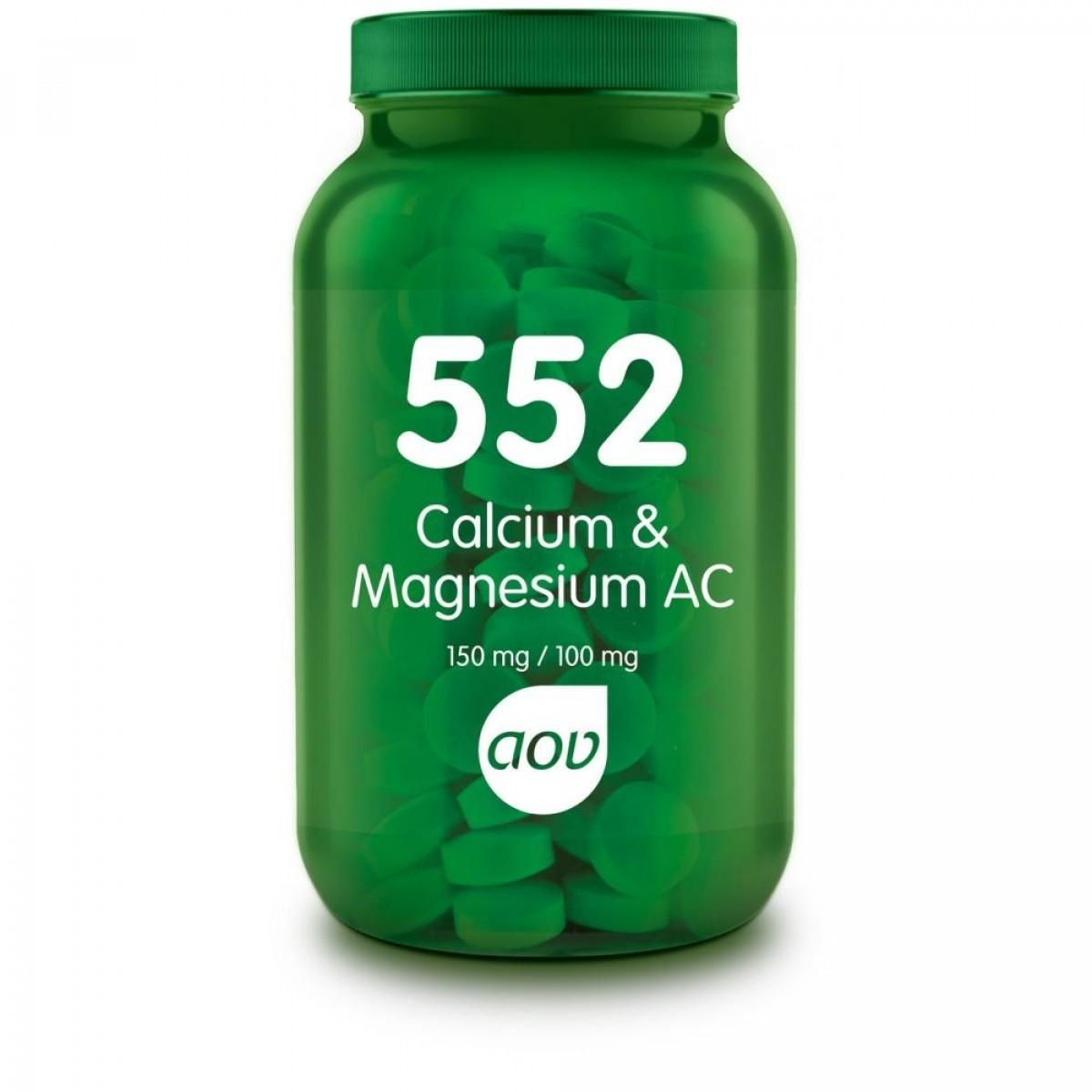 552 Calcium & Magnesium AC