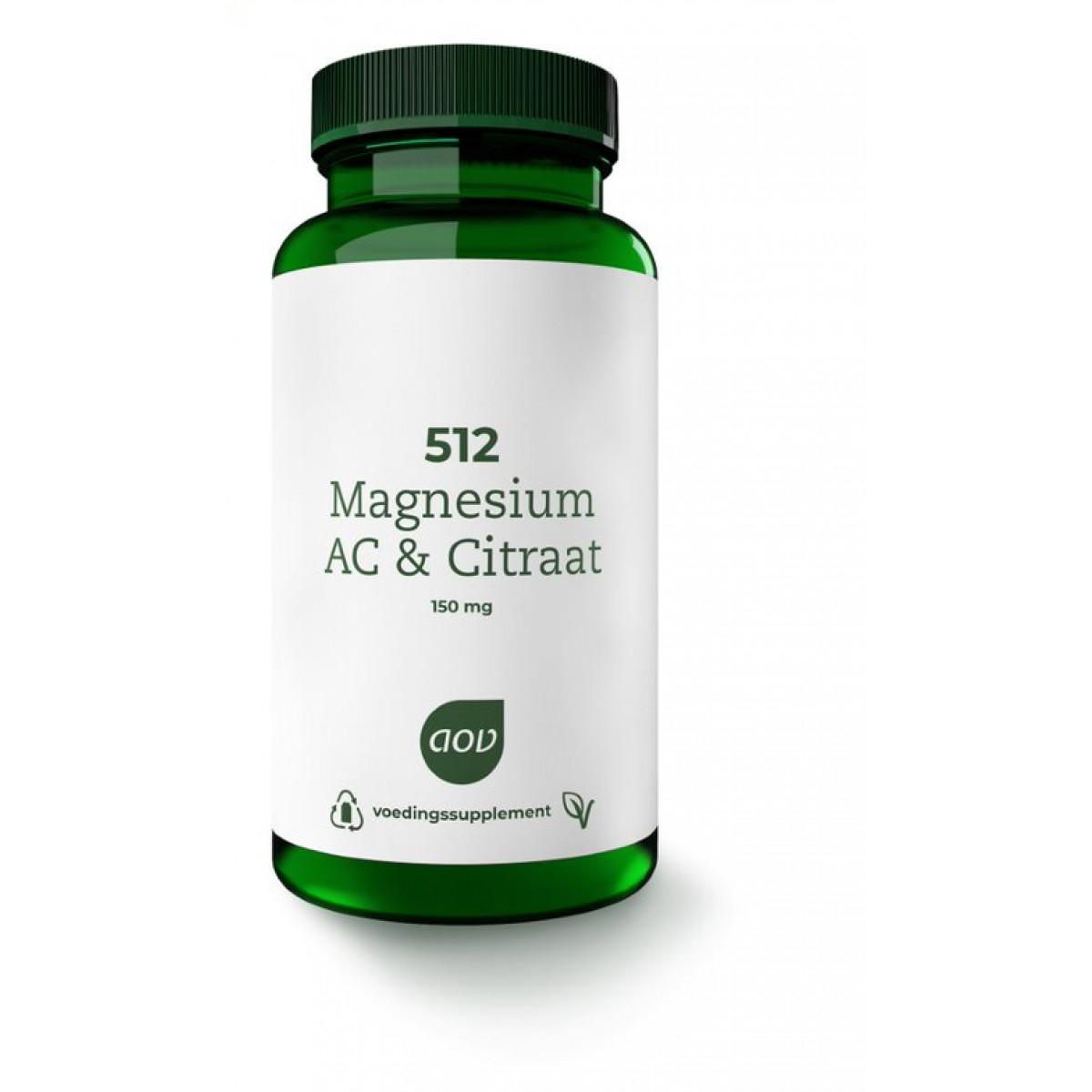 512 Magnesium AC Citraat