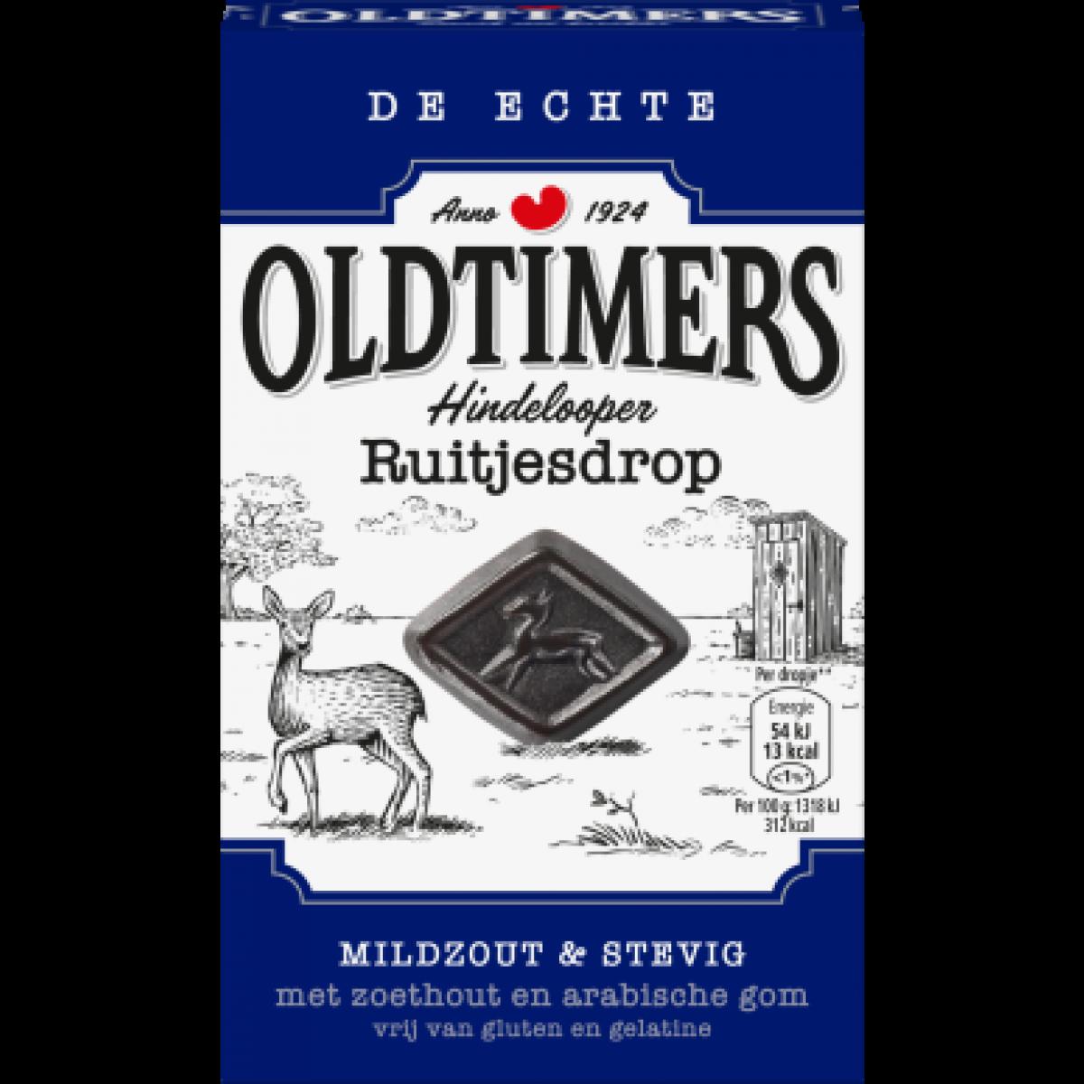 Oldtimers Hindelooper Ruitjesdrop