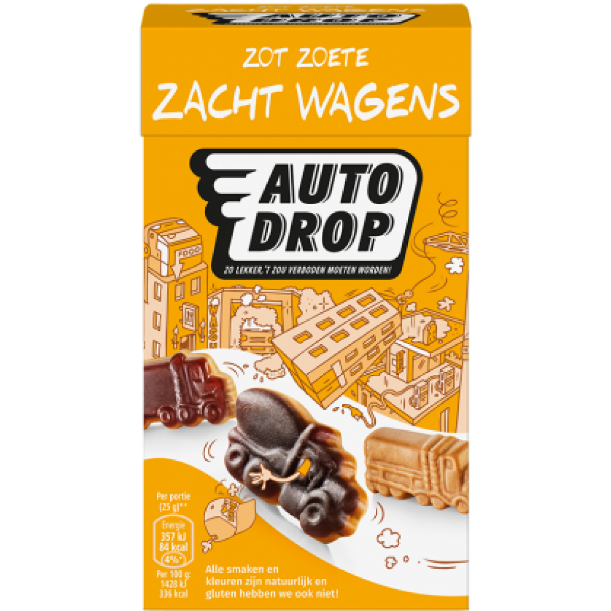 Zacht Wagens Mixdoos