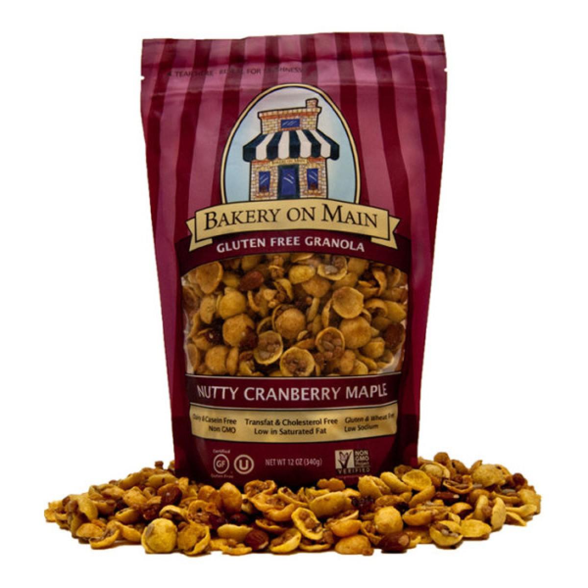 Muesli Nutty Cranberry Maple