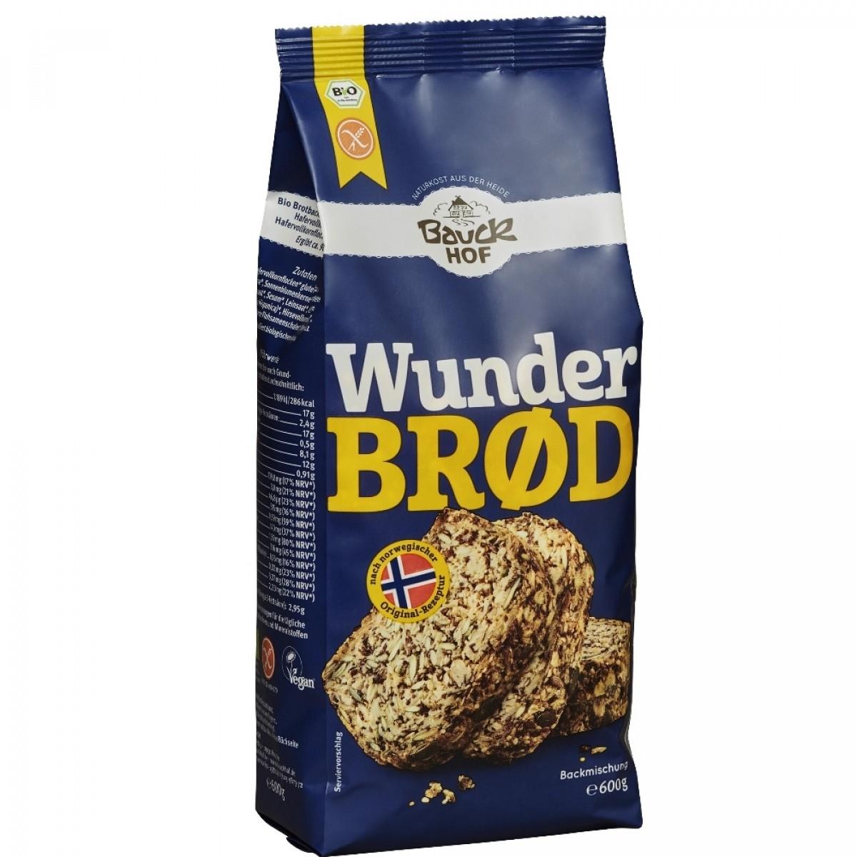 Broodmix Havervolkoren (Wunderbrood)