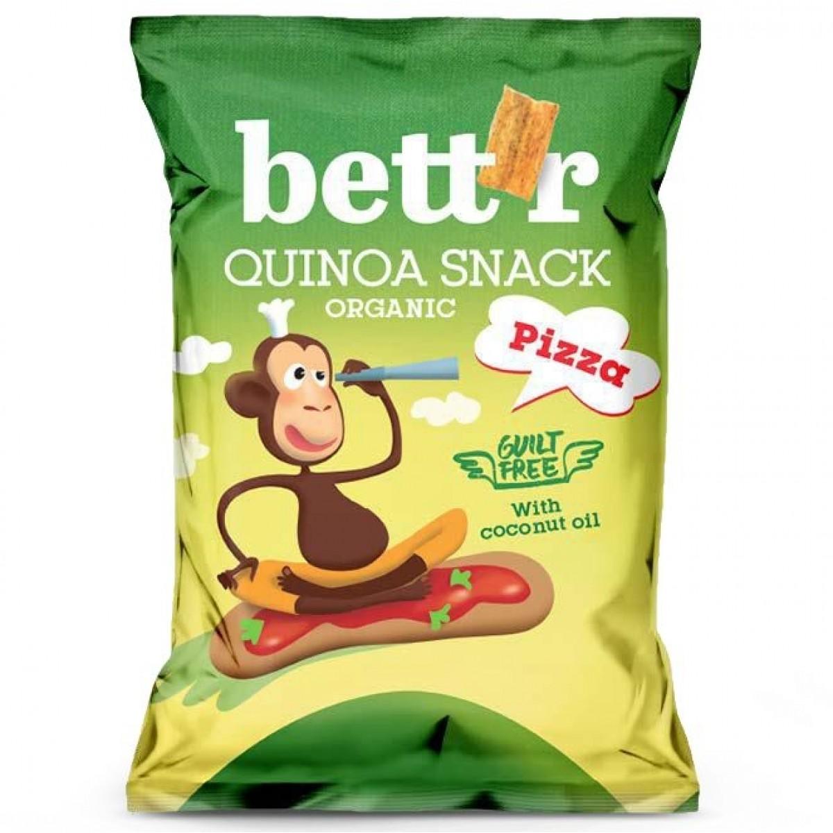 Quinoa Pizza Snack