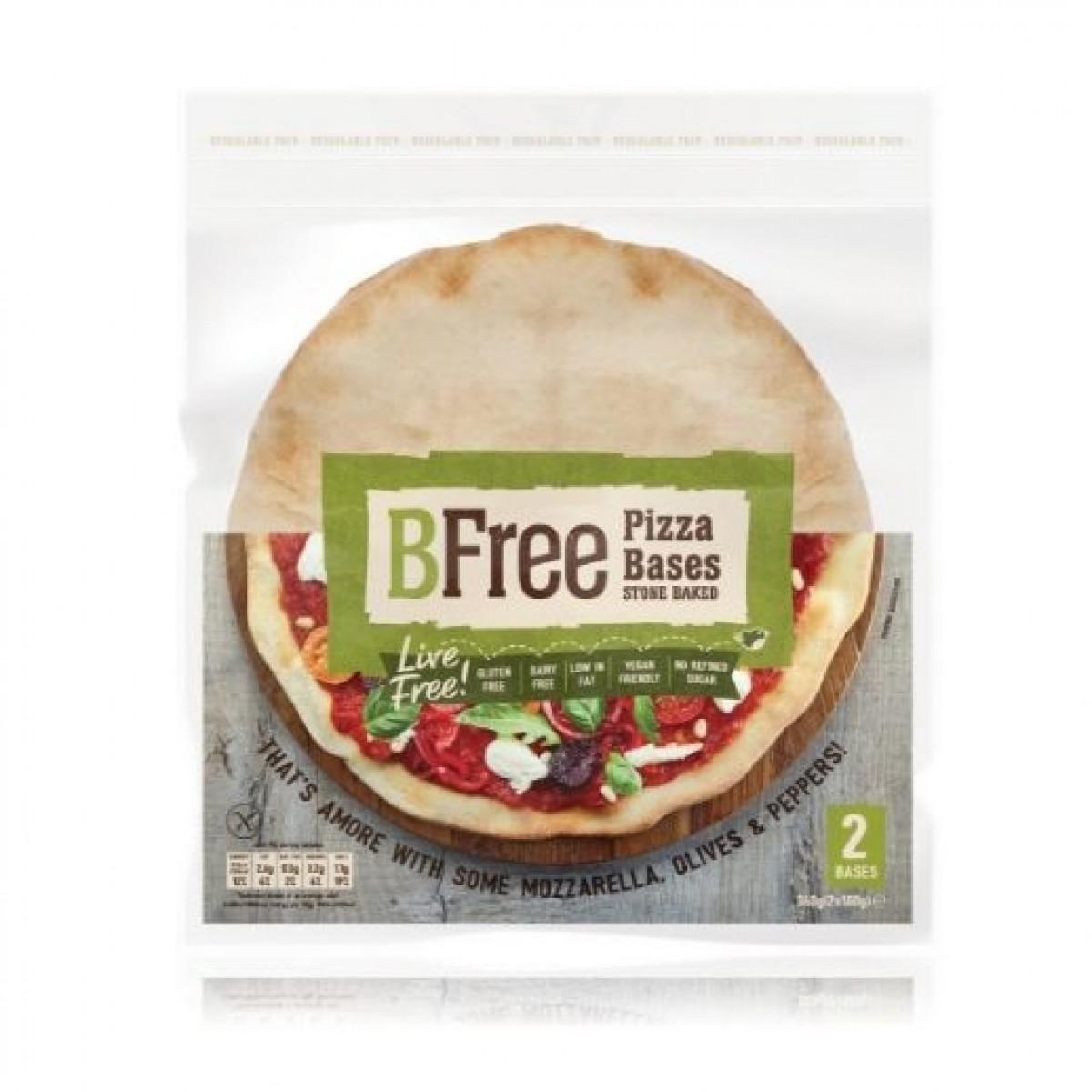 Pizzabodems Stone Baked (2 stuks) (T.H.T. 26-11-2019)