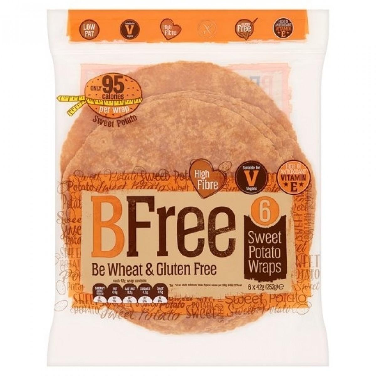 Zoete Aardappel Wraps (6 stuks)