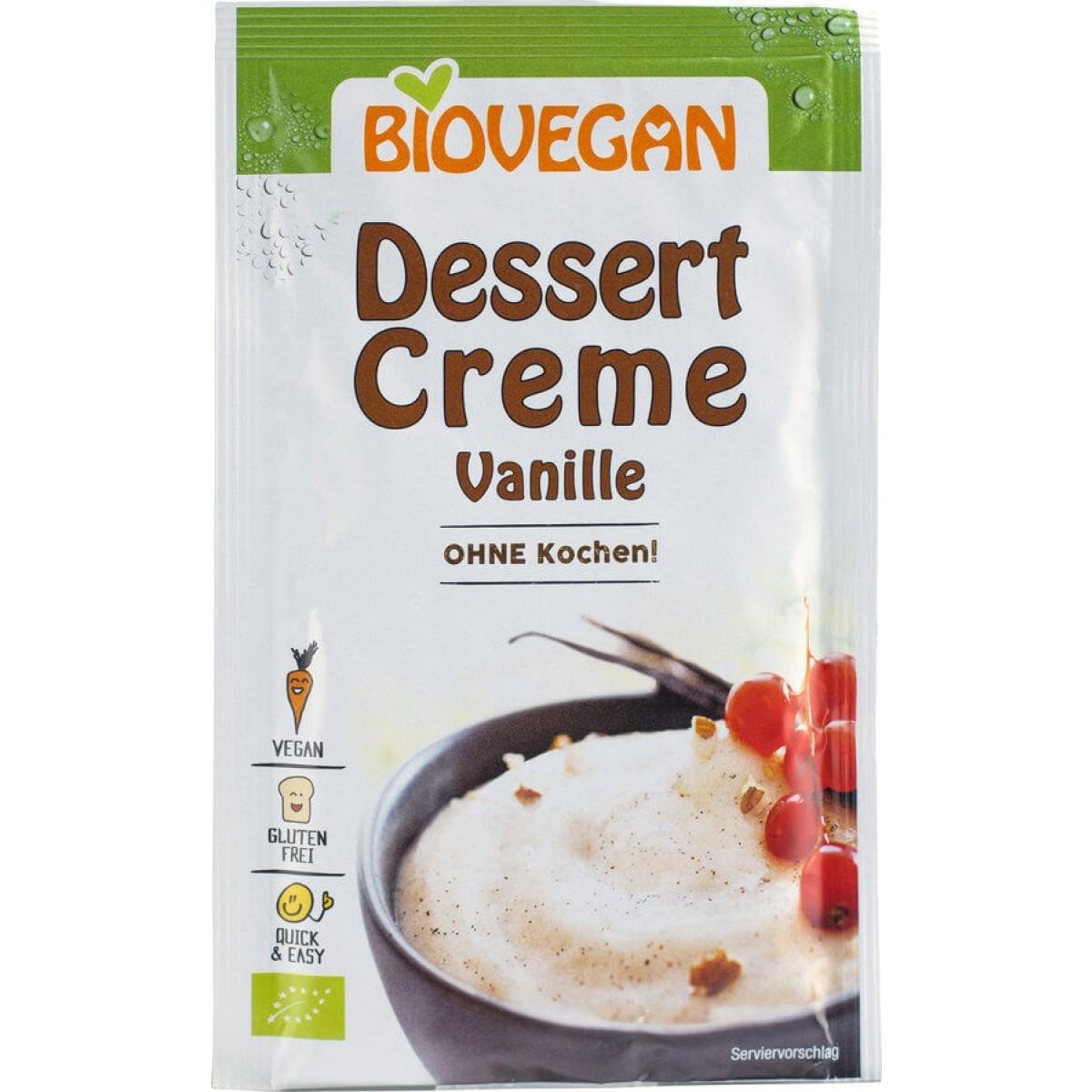 Dessert Crème Vanille