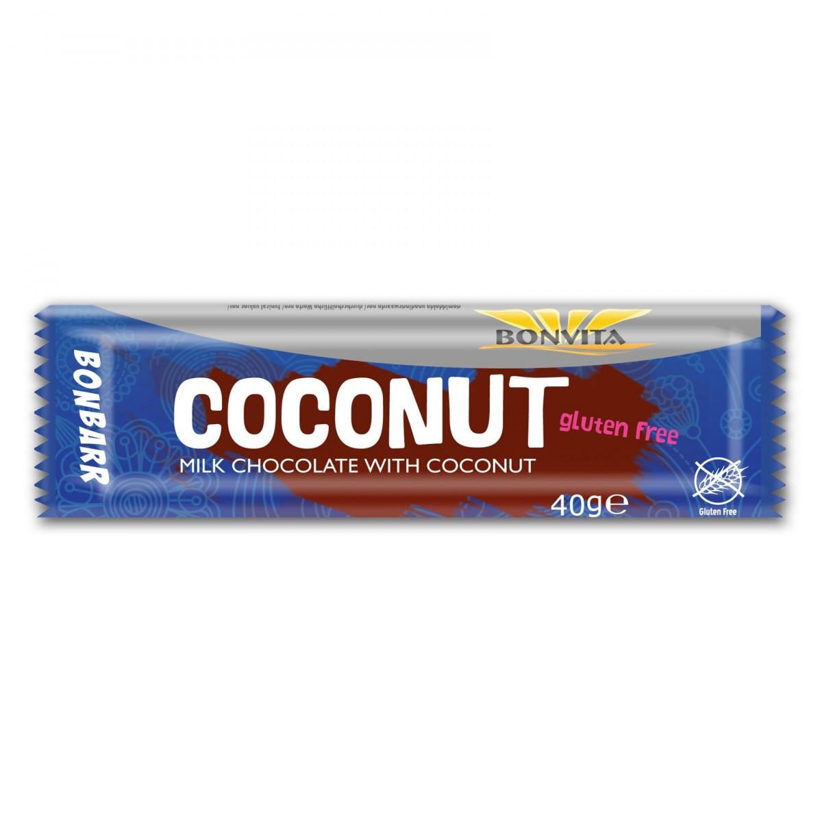 Bonbarr Melkchocolade & Kokos