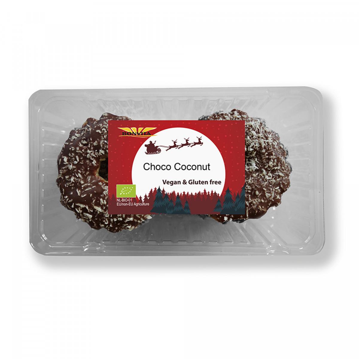 Vegan Kerstkransjes Choco Kokos