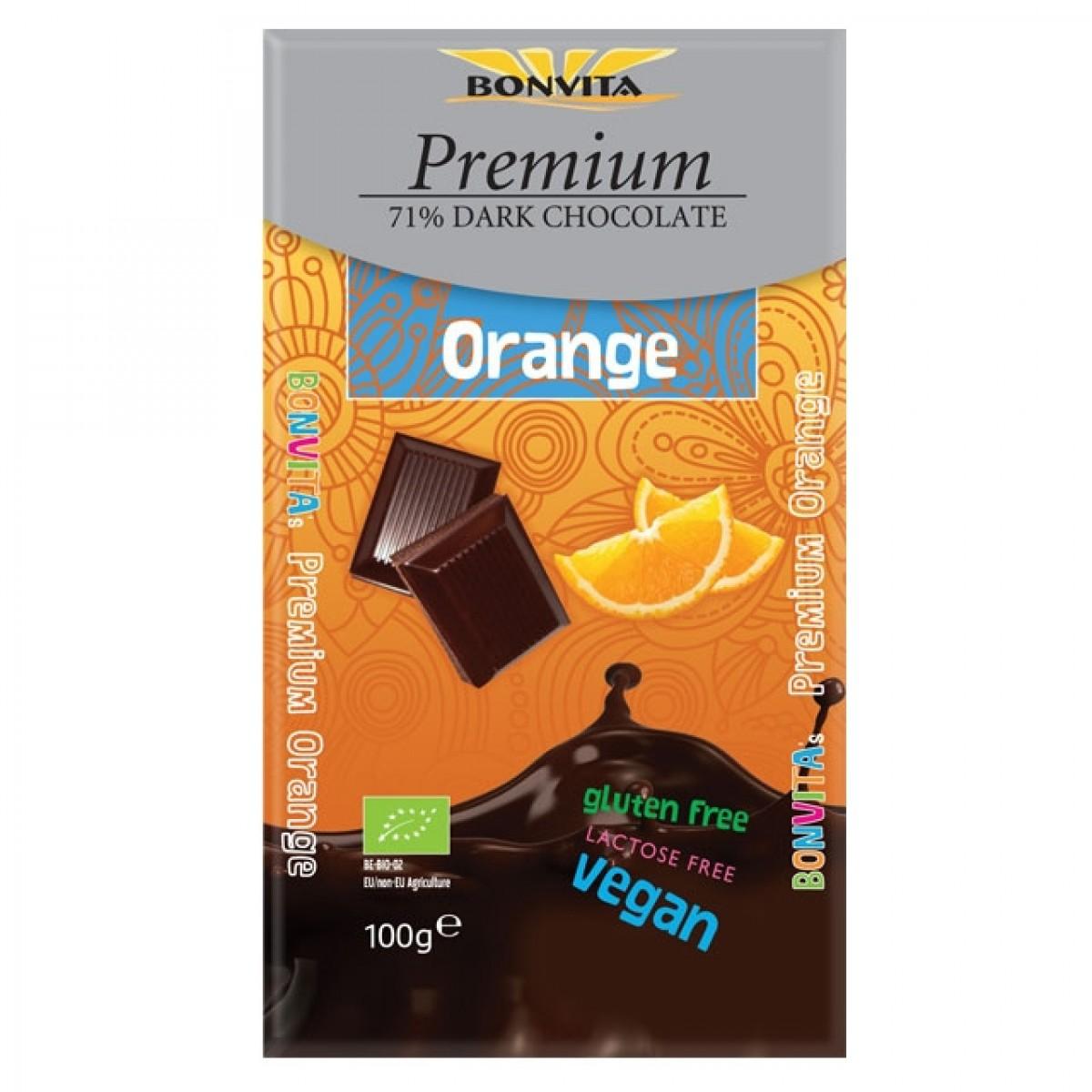 Premium Chocoladetablet Orange