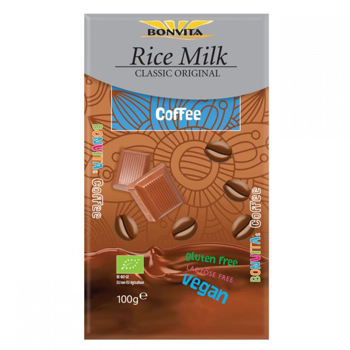Rijstmelk Chocoladetablet Koffie