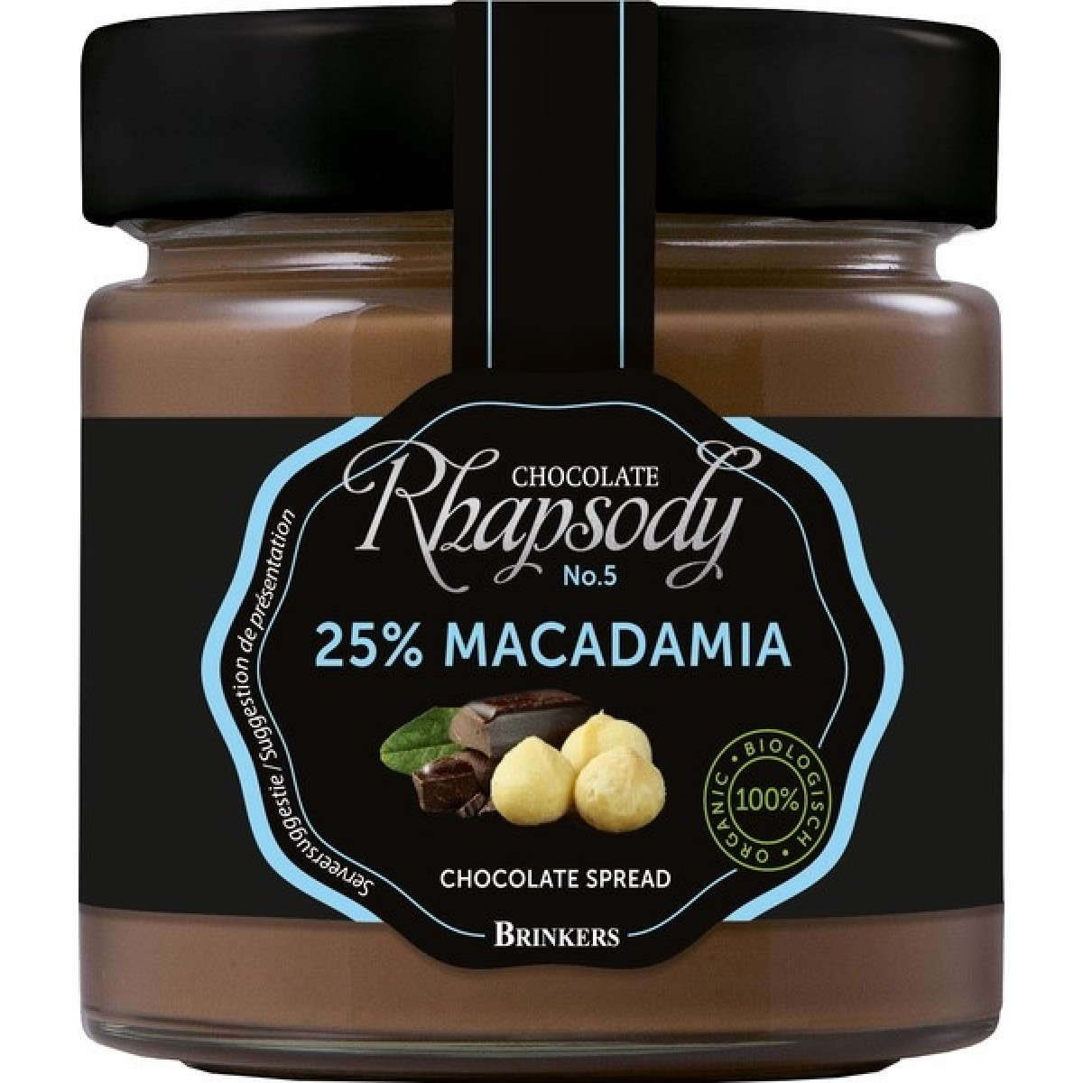 Chocoladepasta 25% Macadamia