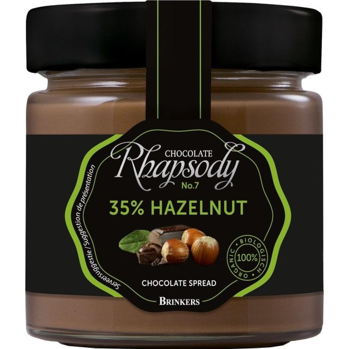 Chocoladepasta 35% Hazelnoot