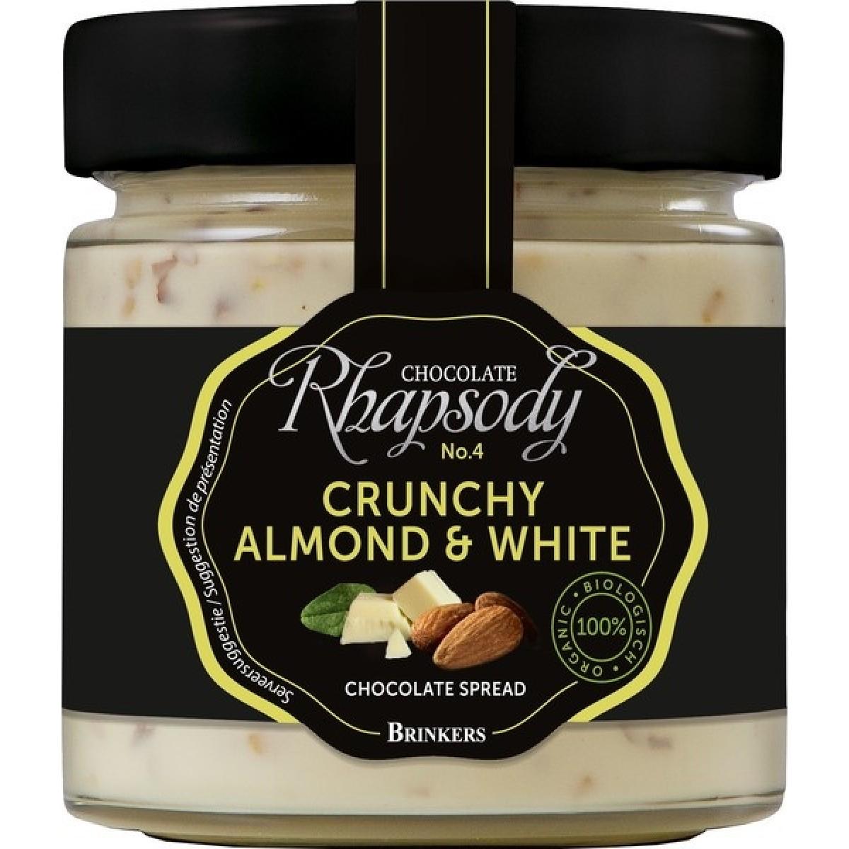 Chocoladepasta Crunchy Almond & White