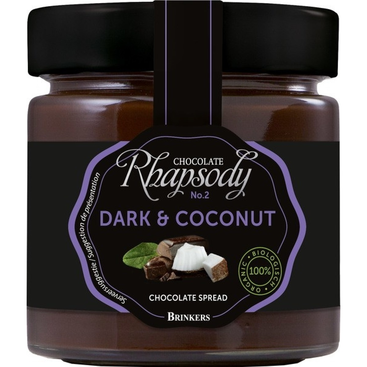 Chocoladepasta Puur & Kokos