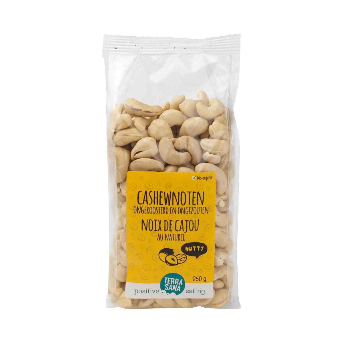 Cashewnoten Ongeroosterd & Ongezouten 250 gram