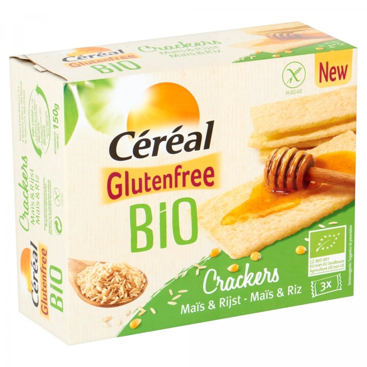 Crackers Mais & Rijst