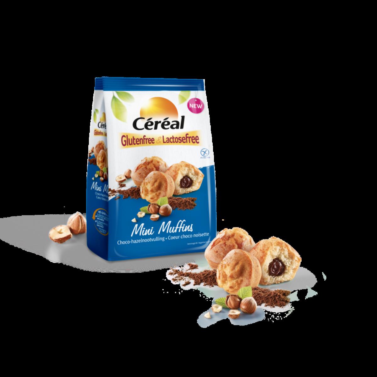Mini Muffins Hazelnoot
