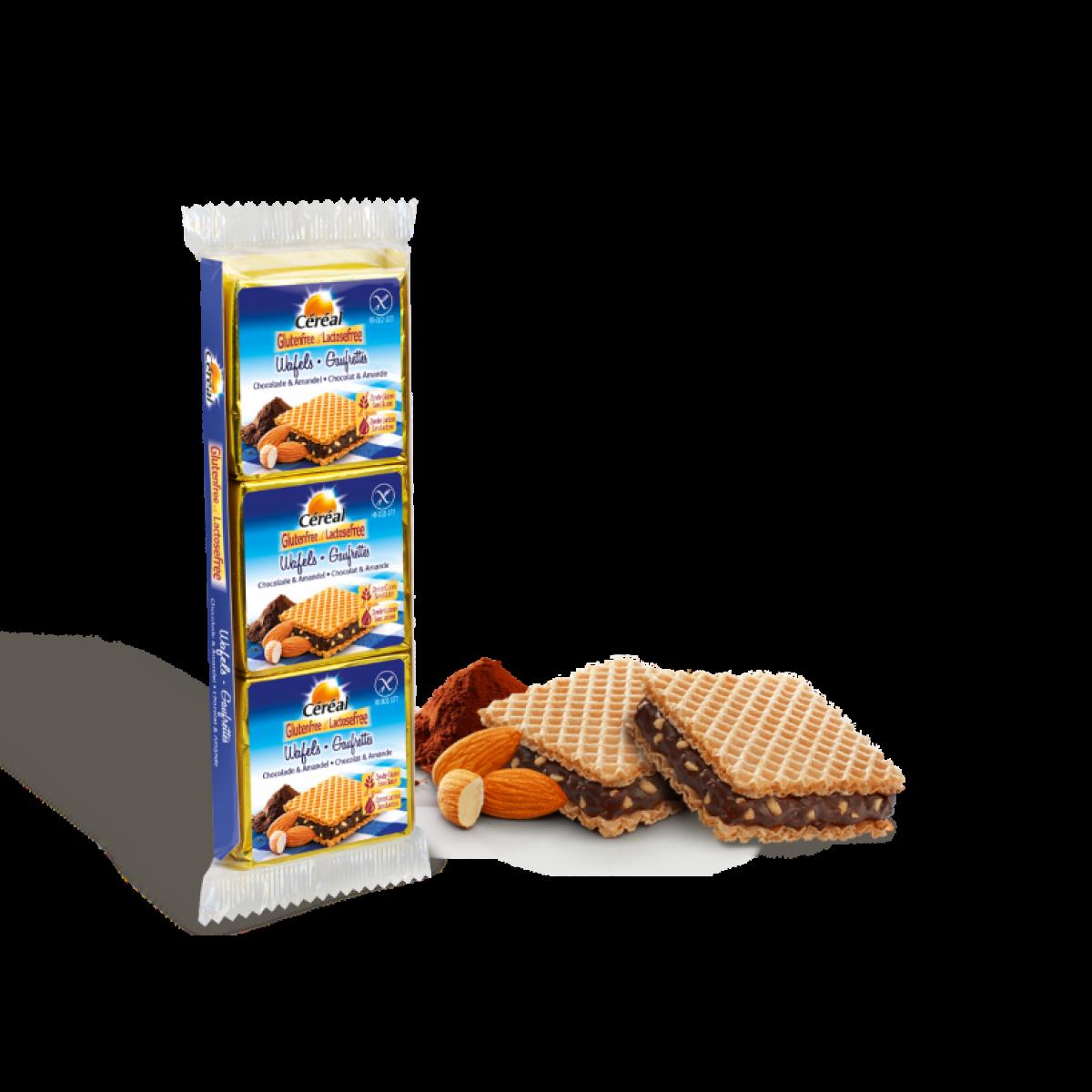 Wafels Chocolade & Amandel