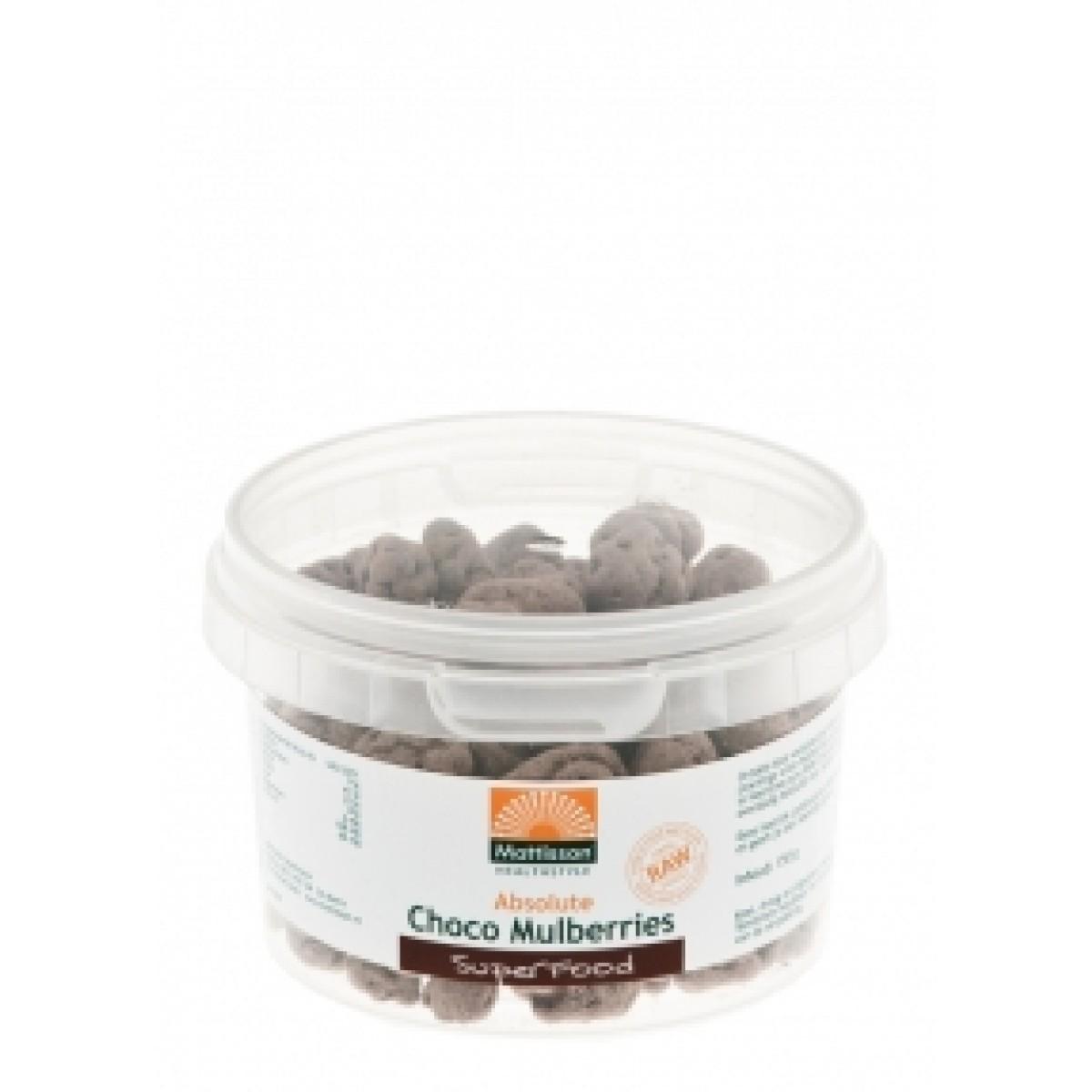 Choco Mulberries 150 gram
