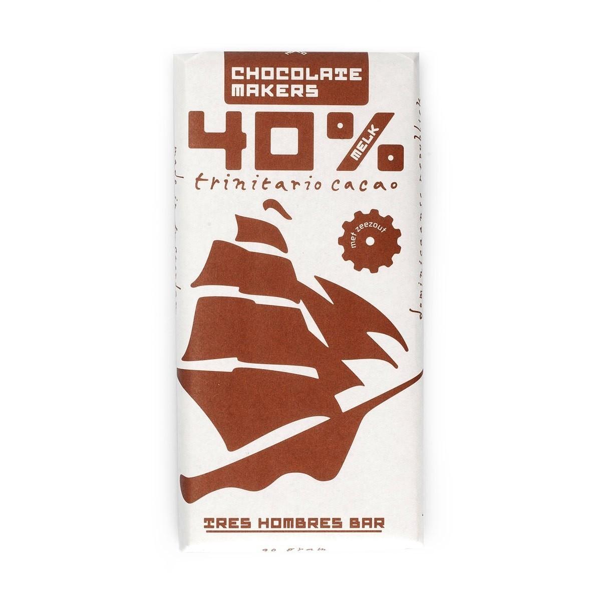 Tres Hombres Chocoladetablet Melk 40%