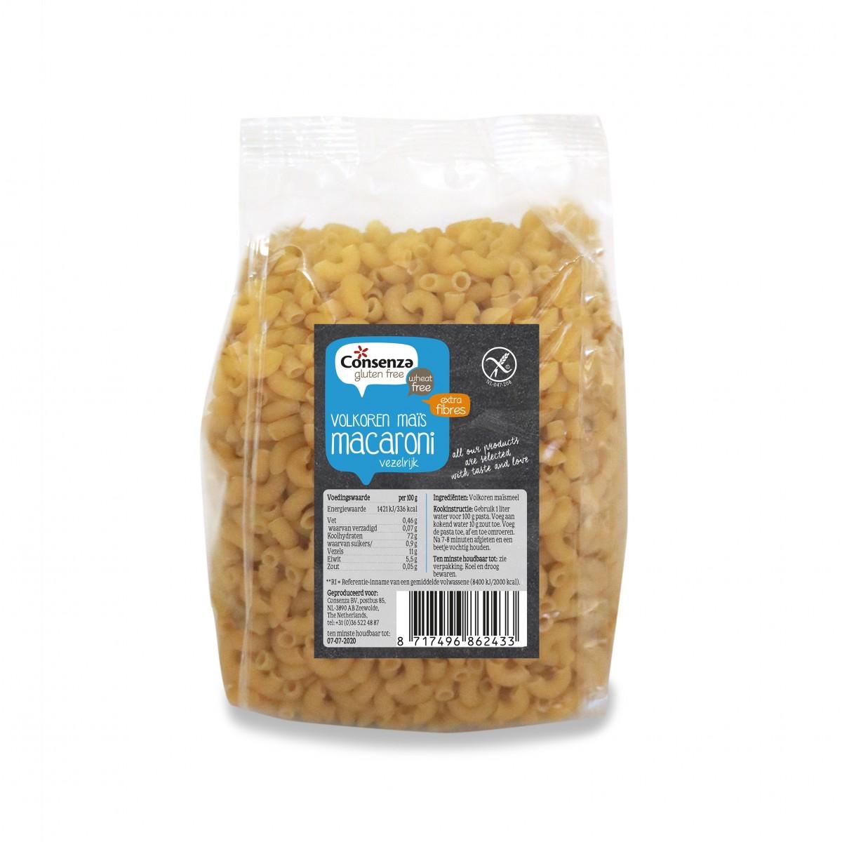 Volkoren Mais Macaroni