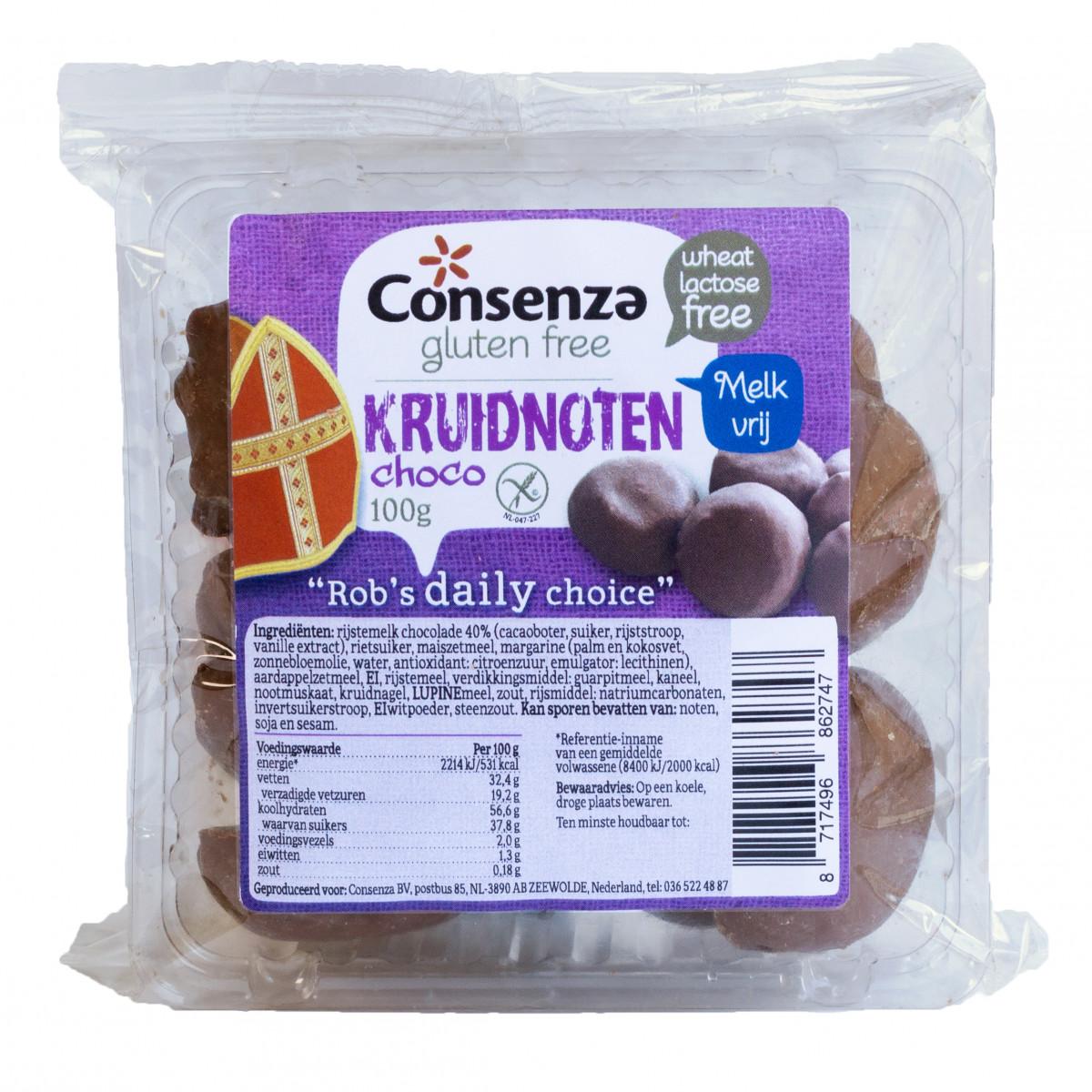 Chocolade Kruidnoten Lactosevrij