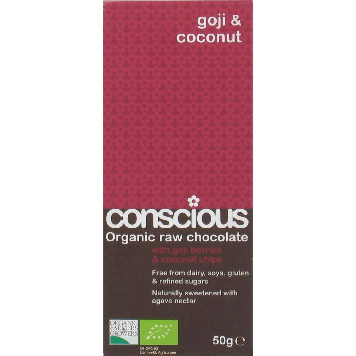 Raw Chocolate Goji & Coconut