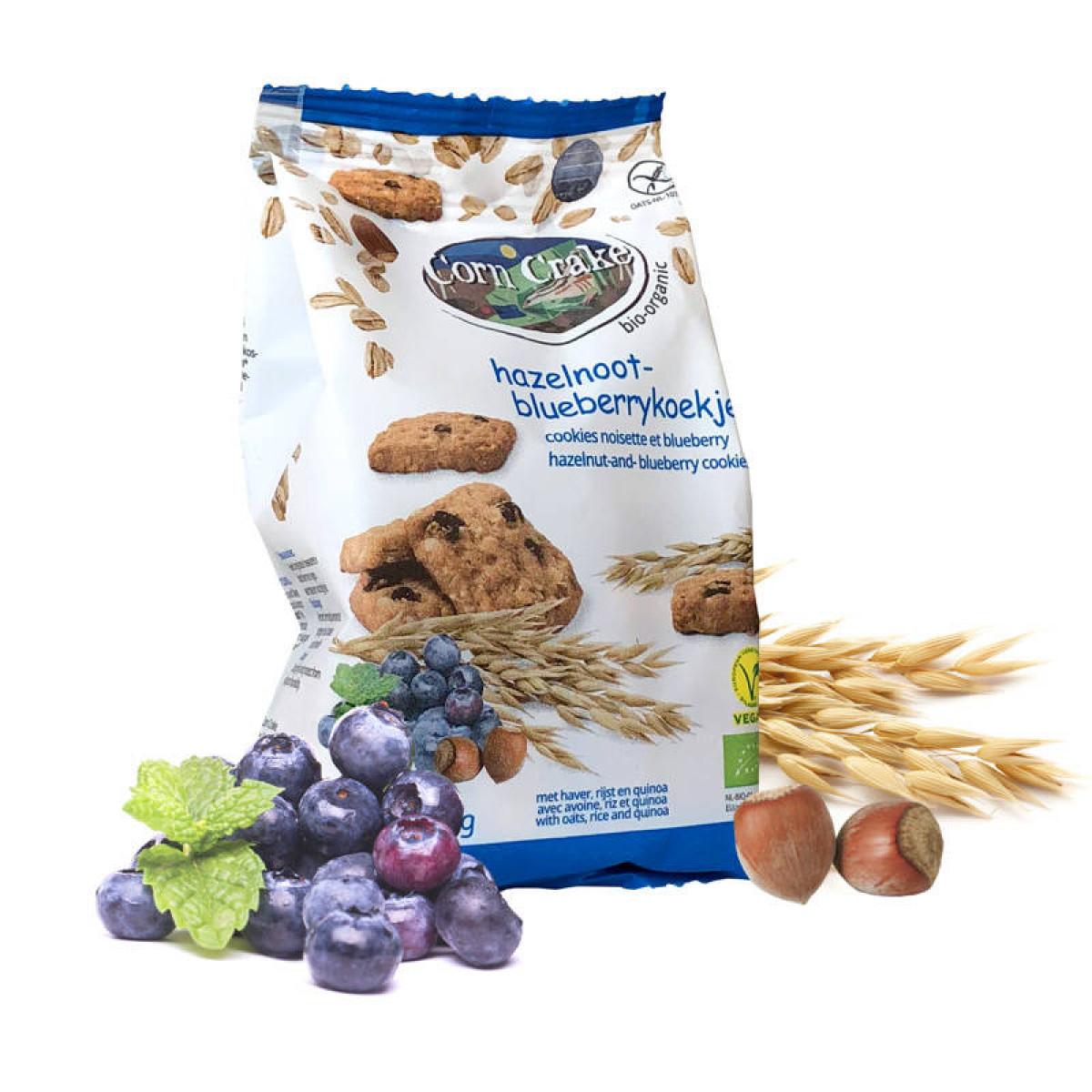 Hazelnoot Blueberrykoekjes