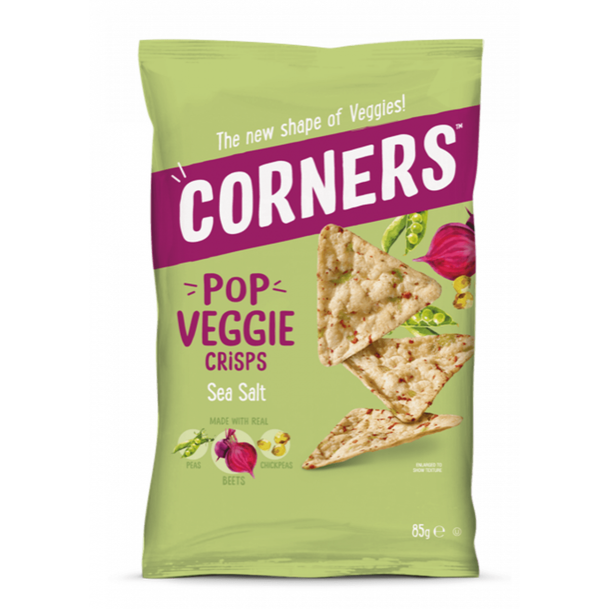 Pop Veggie Crisps Sea Salt