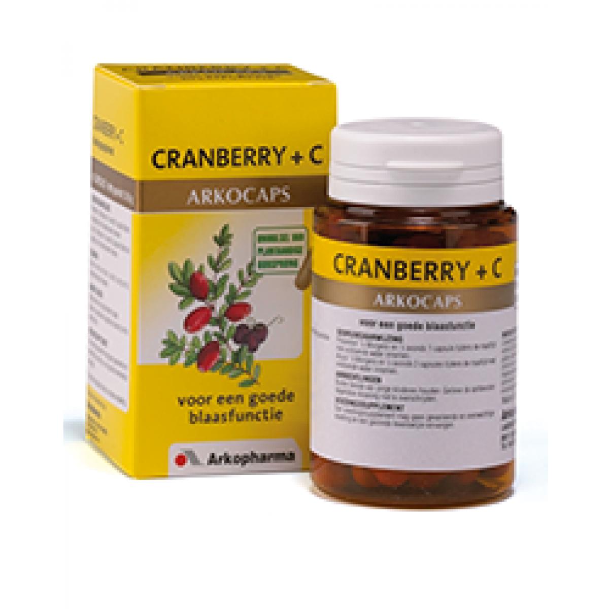 Cranberry +C 150 Capsules