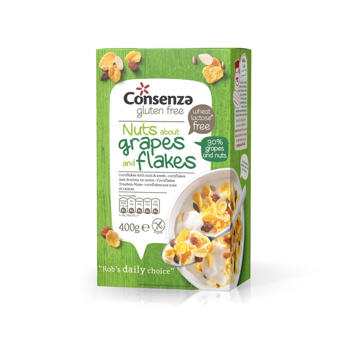 Cornflakes Druiven-Noten