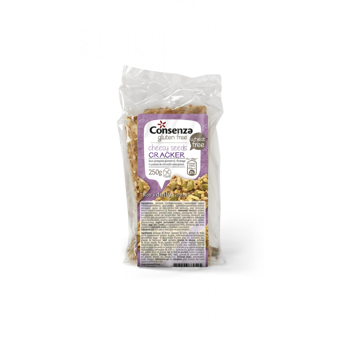 Crackers Kaas Pompoen