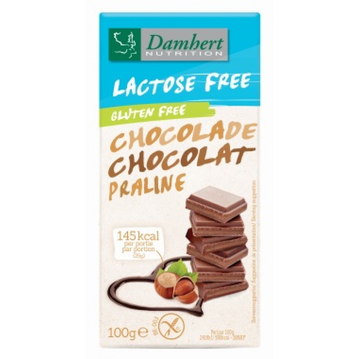 Melkchocolade Praline Lactosevrij