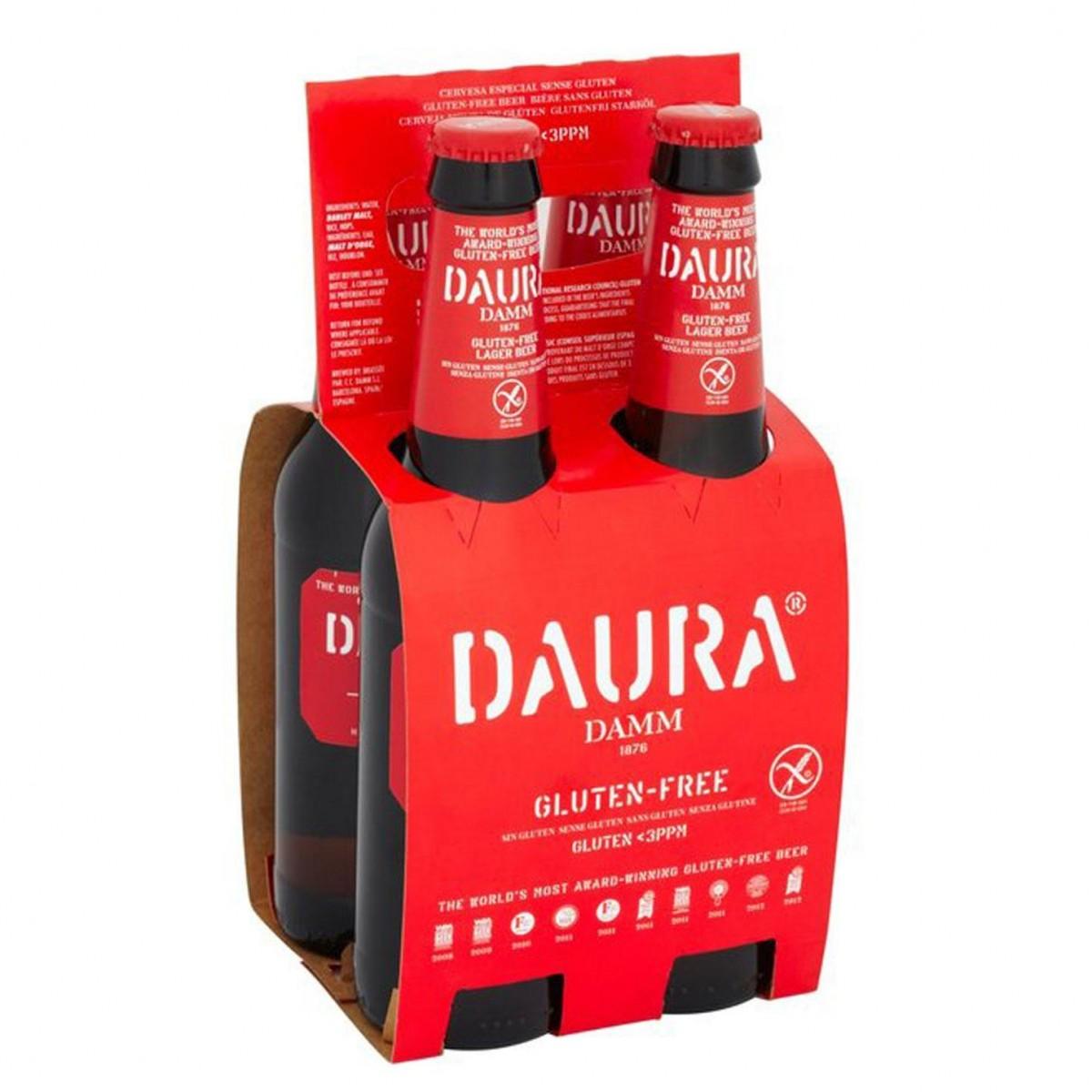 Estrella Daura Damm Bier 4-pack