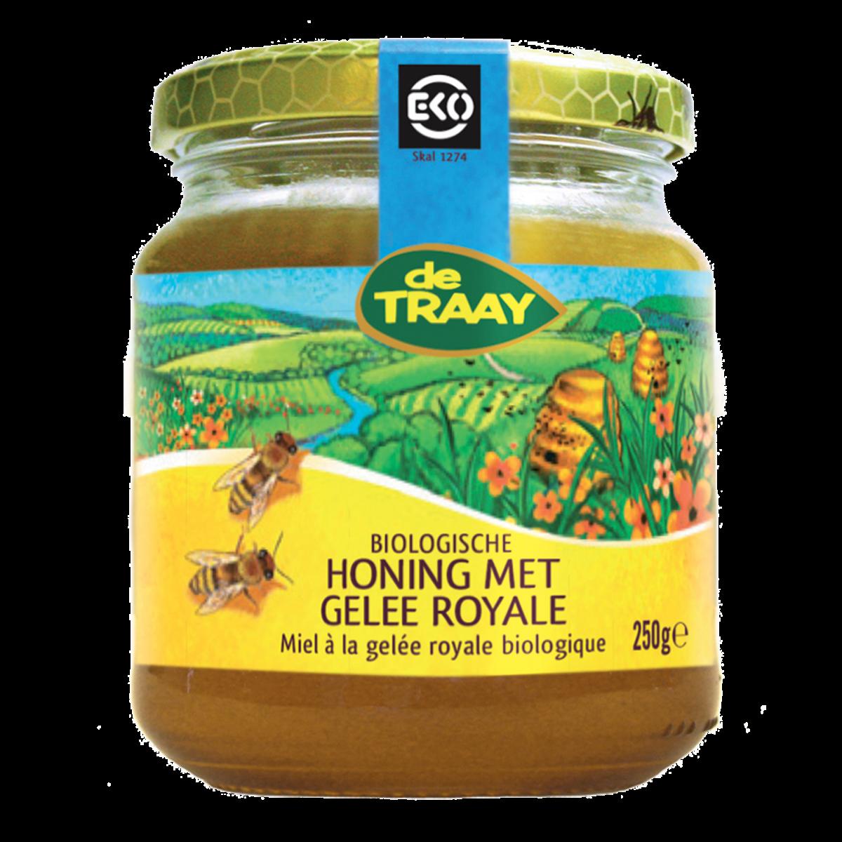 Honing met Gelee Royale Biologisch